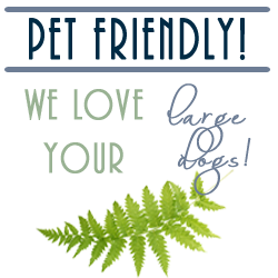 pet friendly we love large dogs