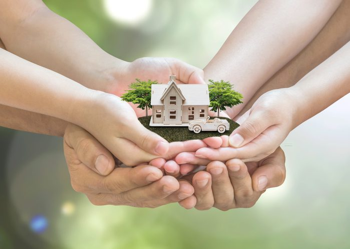 addison clermont Home loan, car insurance, family assurance protection, and private property legacy planning concept