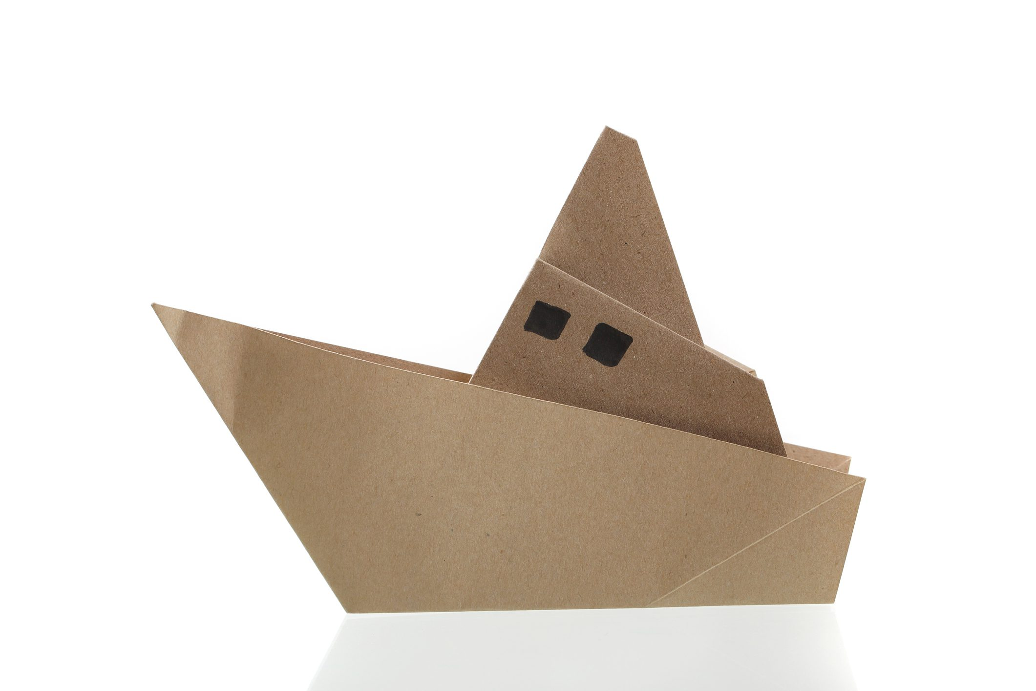 folded cardboard boat addison clermont