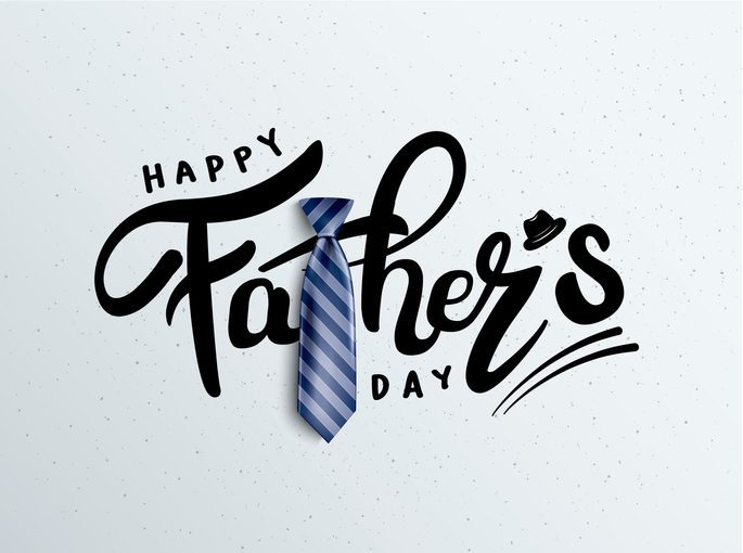 Happy Father's Day Calligraphy greeting card. Vector illustration. the addison at clermont