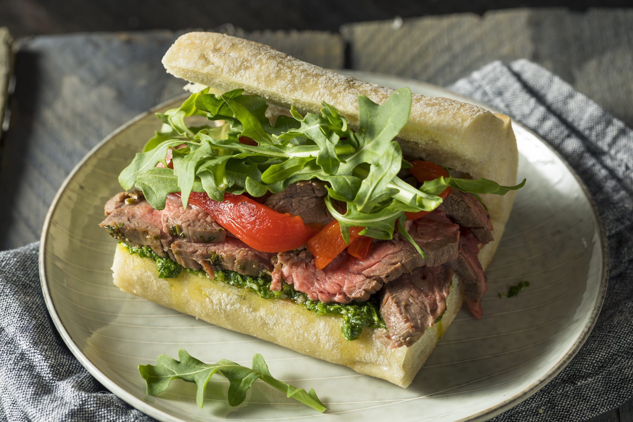 addison clermont Chimichurri steak sandwich - The Addison at Clermont