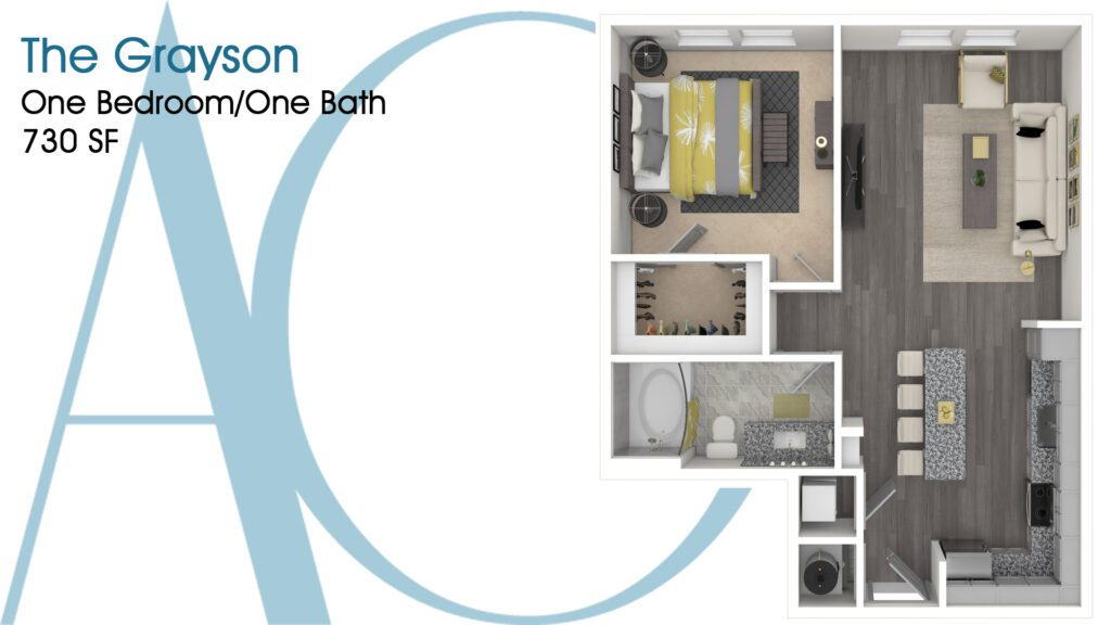 0730 The Grayson Addison Clermont Floorplan