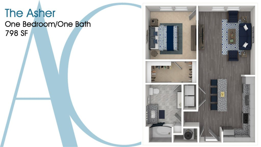 0798 The Asher Addison Clermont Floorplan