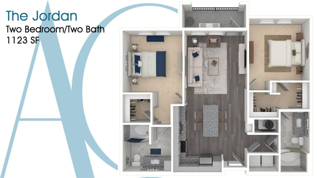 1123 The Jordan Addison Clermont Floorplan