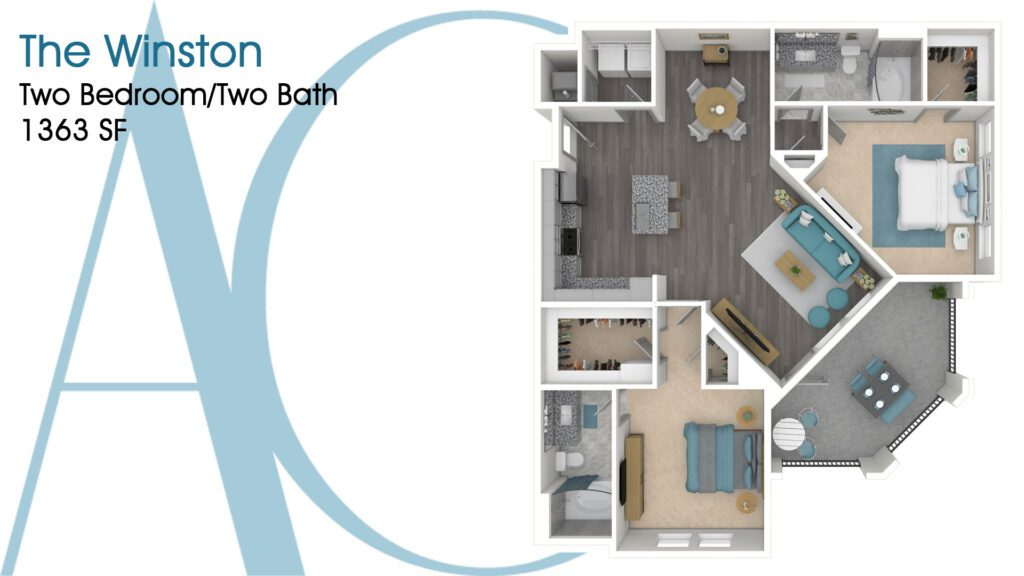 1363 The Winston Addison Clermont Floorplan