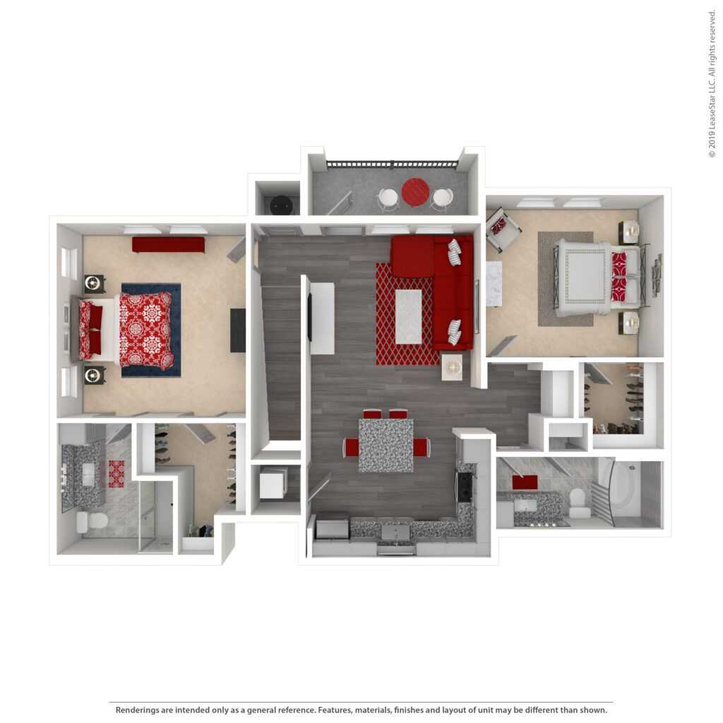 THE HARPER CARRIAGE HOME, B4 | 1156 SF | TWO BEDROOM, TWO BATH >> INCLUDES TWO GARAGES