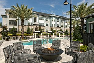 The Addison at Clermont Fire pit and pool